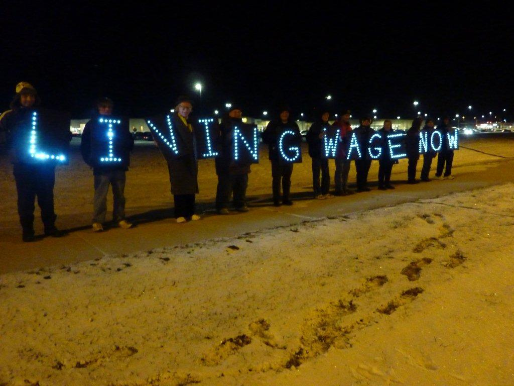 Living Wage Now on Black Friday 2014