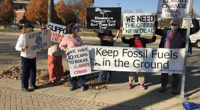 We oppose any new fossil fuel infrastructure